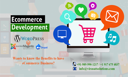 "Benefits to have eCommerce-""Virasat Solutions"""