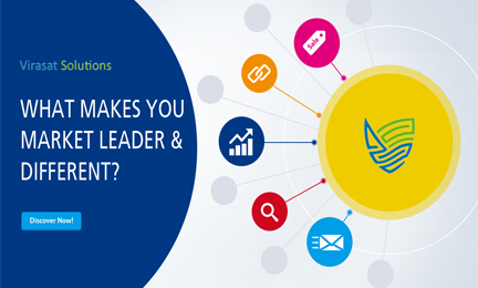 What makes you different as a market leader to generate sales lead?