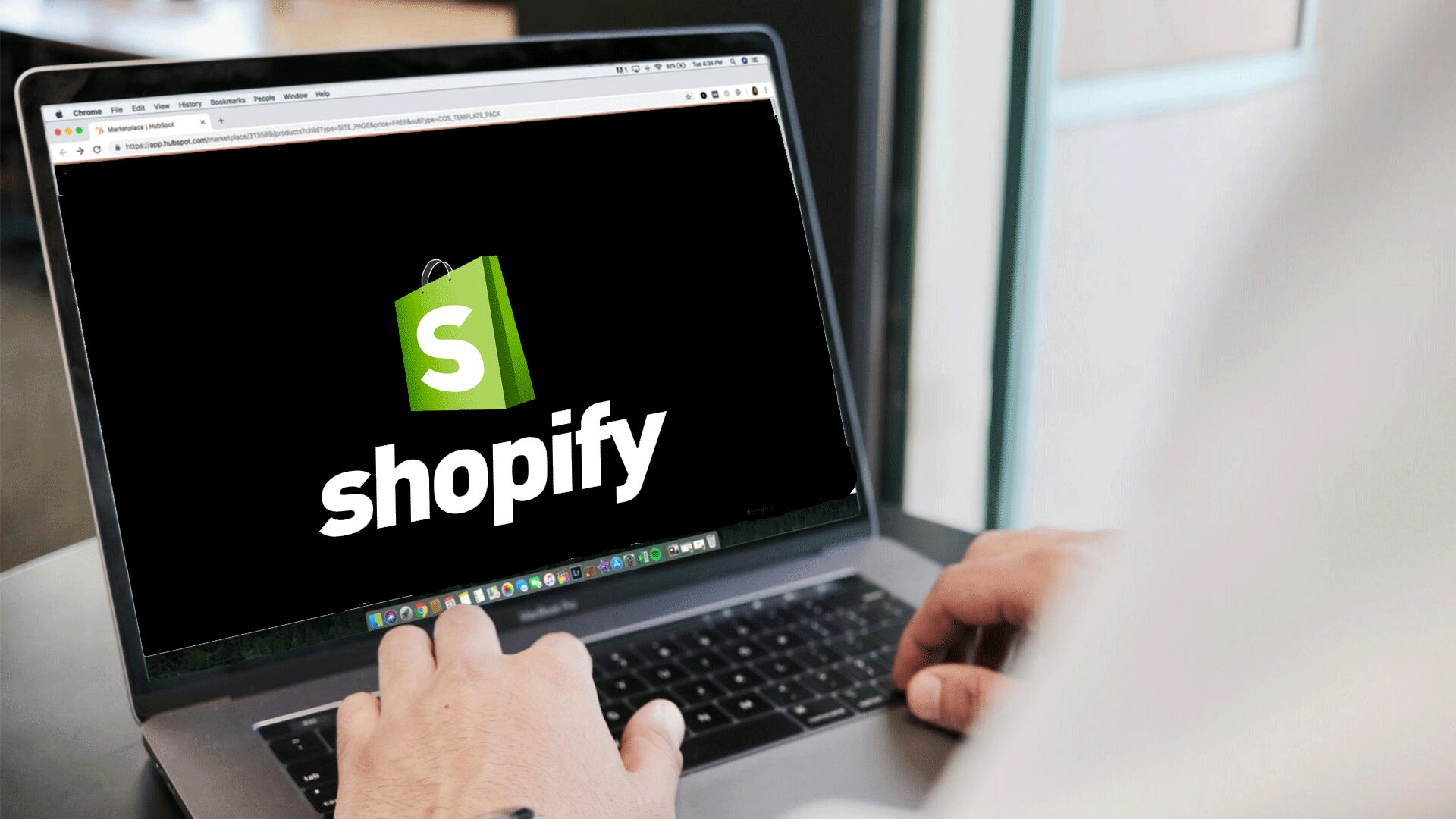 Shopify Development Services banner