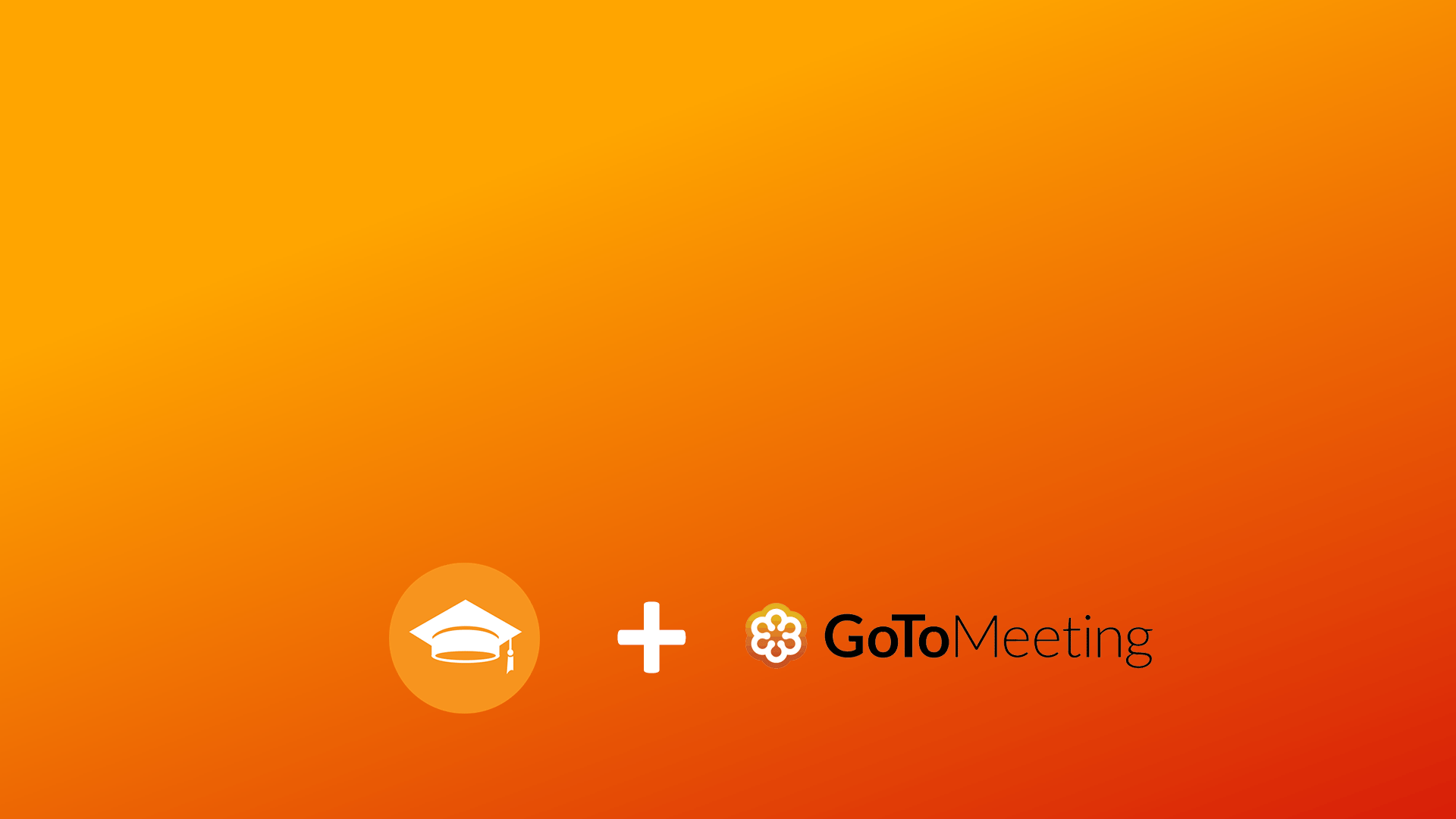 Moodle GoTo Meeting