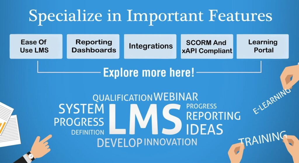 LMS important Features